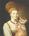 «Портрет неизвестной крестьянки в русском костюме» Ивана Аргунова , Фото: 8