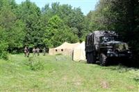 Тульский ОМОН провел боевую подготовку школьников, Фото: 32