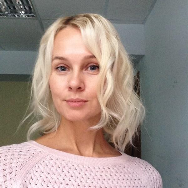 Блондинка «Мешком по голове»