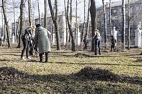 Субботник в Комсомольском парке с Владимиром Груздевым, 11.04.2014, Фото: 47