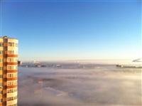 Необычные клубы дыма над заводом. Косая Гора, 21 января 2014, Фото: 11
