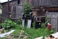 В Плеханово начали сносить дома в цыганском таборе, Фото: 33