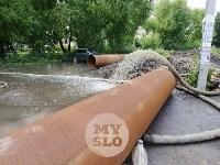 Дворы на Красноармейском проспекте затопило нечистотами, Фото: 2