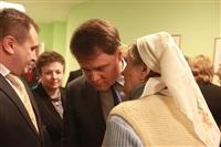 Владимир Груздев в Дубенском районе. 30 января 2014, Фото: 3