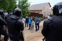 В Плеханово начали сносить дома в цыганском таборе, Фото: 54