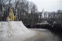 В ЦПКиО сожгли чучело зимы, Фото: 7