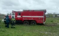 Скорая и пожарные застряли в грязи, Фото: 4