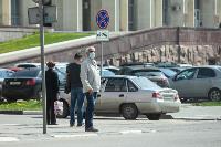 Первый день масочного режима в Туле, Фото: 10