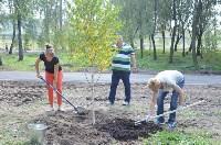 В Пролетарском районе высадили молодые деревья, Фото: 14