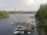 слияние рек Волга и Тверца - речной вокзал, Фото: 1