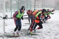 «Арсенал» готовится на снежном поле к игре против «Тосно», Фото: 16