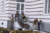 Осмотр стоящегося суворовского училища. 22 августа, Фото: 36