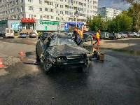Авария на ул. Максима Горького, 1Б, Фото: 2
