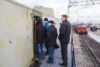 Открытие экспозиции в бронепоезде, 8.12.2015, Фото: 56