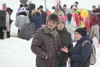 Как туляки провожали зиму на набережной Упы, Фото: 59