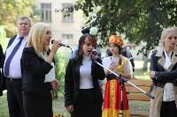 Открытие студенческого сквера Тульского сельскохозяйственного колледжа им. И.С.Ефанова, Фото: 9