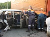 Под Щекино «шестёрка» залетела под грузовик, Фото: 3