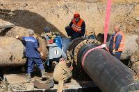 Как ведется монтаж водовода, питающего водой Пролетарский округ Тулы. Фото, Фото: 6