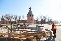 В Туле фонтаны готовят к открытию, Фото: 7