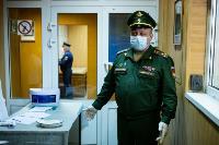 Экспресс-тест на covid-19, маски и социальная дистанция: В Туле первых призывников отправили в армию, Фото: 5