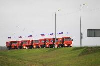 В Суворовском районе  введен в эксплуатацию участок автодороги «Калуга-Перемышль-Белёв-Орёл», Фото: 28