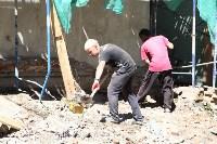 Груздев инспектирует строительство бассейна на Гоголевской. 3.08.2015, Фото: 2