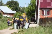 На Косой Горе ликвидируют незаконные врезки в газопровод, Фото: 3