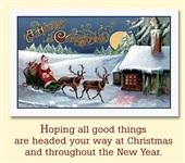 Старинные рождественские открытки, Фото: 17