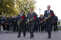 В Туле открыли памятник экипажу танка Т-34, Фото: 24