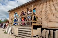 В Плеханово начали сносить дома в цыганском таборе, Фото: 145