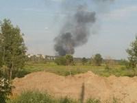 В Туле загорелось «кладбище» автомобилей, Фото: 4