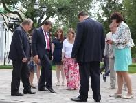 Груздев оценивает ход реставрации в Кремле. 22.06.2015, Фото: 13