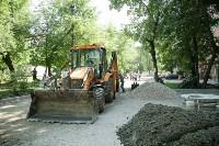 В Туле началось благоустройство скверов и дворов, Фото: 20