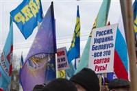 В Туле проходит митинг в поддержку Крыма, Фото: 20