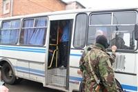 В ходе зачистки на Центральном рынке Тулы задержаны 350 человек, Фото: 33