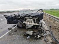 В серьезном ДТП на М-2 в Туле пострадали три человека, Фото: 18