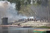 Реконструкция боевых действий. Центральный парк. 9 мая 2015 года, Фото: 48