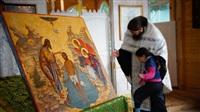 Крещение жителей Новомосковска, Фото: 43