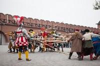 Средневековые маневры в Тульском кремле. 24 октября 2015, Фото: 110