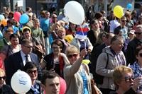 Тульская Федерация профсоюзов провела митинг и первомайское шествие. 1.05.2014, Фото: 67