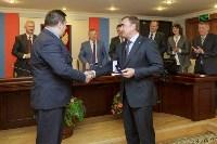 Алексей Дюмин получил знак и удостоверение губернатора Тульской области, Фото: 6