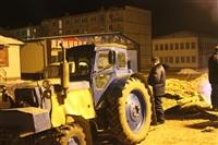 Порыв отопления в Ефремове, 22.01.2014, Фото: 6