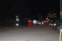 Глубина провала на Одоевском шоссе в Туле - примерно 3 метра, Фото: 15