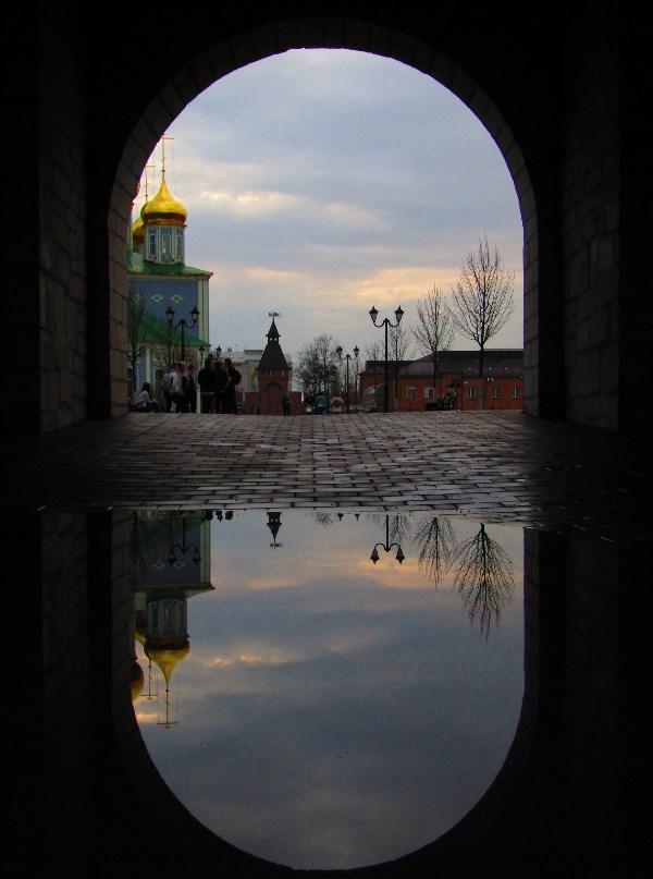 По дороге в Кремль