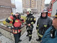 Тульские пожарные провели соревнования по бегу на 22-этаж, Фото: 27
