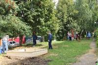 «Экопатруль» благоустроил в Киреевске двор, Фото: 23