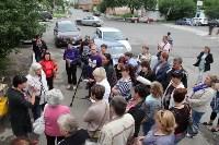 Мини-бунт перед сносом торговых павильонов на Фрунзе. 23.06.2015, Фото: 10