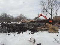 В Туле расчищают территорию для строительства моста через Упу, Фото: 5