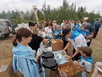 В Кондуках прошла акция «Вода России»: собрали более 500 мешков мусора, Фото: 19