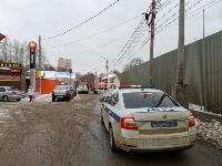 В Туле в переулке Тимирязева загорелся тир «Динамо», Фото: 7